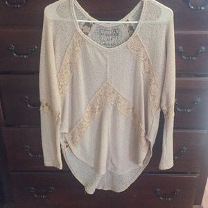 We.  Free People top size s/p